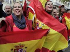 manifestación paris unidad de España