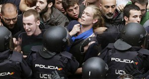 Policia Nacional en Cataluña
