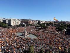 Concentración en defensa de la unidad de España