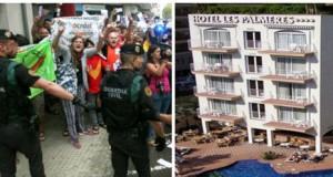 Despedido cocinero hotel en Calella