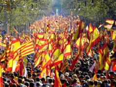 manifestacion Unidad Nacional España