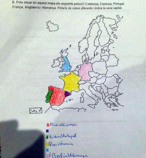 Mapa adoctrinamiento politico aulas