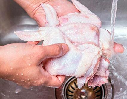 Pollo con cloro