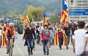 Huelga general Cataluña