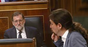 Pablo Iglesias y Rajoy