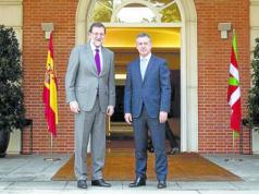Rajoy y Urkullu