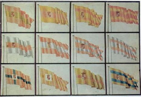 Bandera Naval en España