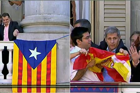 Pisarello bandera España