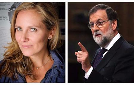 Cristina martin y Rajoy