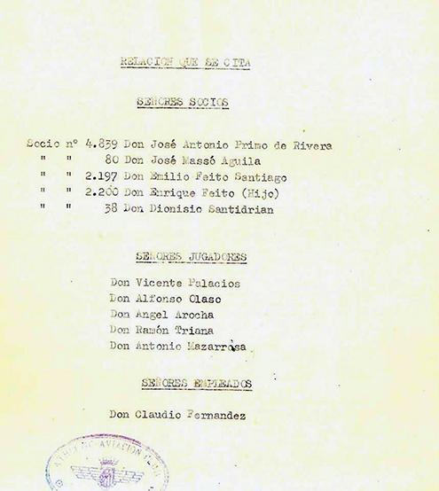 José Antonio Primo de Rivera y el fútbol