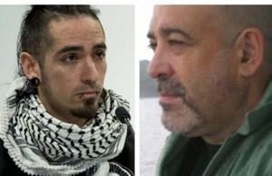 Rodrigo Lanza y Víctor Laínez