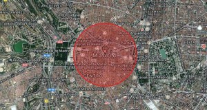 Zona destrucción nuclear madrid