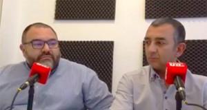 Norberto Pico de Falange Española de las JONS y Manuel Andrino de La Falange