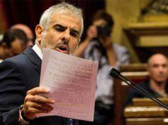 Carlos Carrizosa de Ciudadanos culpa a Podemos en el parlament