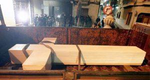 El PP retira la Cruz de Callosa con la Ley de Memoria Histórica