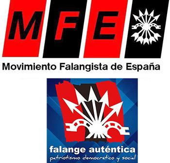 Movimiento Falangista de España y Falange Auténtica