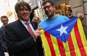 Golpistas detenidos por el golpe de estado contra la unidad de España en Cataluña