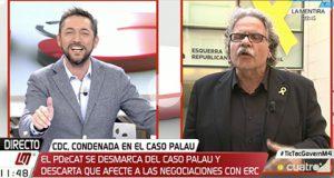 Joan Tardá explica como pacta con los corruptos de Convergencia
