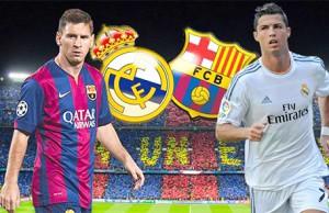 Los resultados del Madrid y el Barcelona en La Liga de fútbol