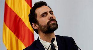 Roger Torrent en el Parlament de Catalunya