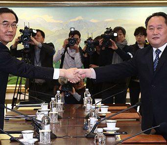 Corea del Norte y Corea del Sur irán juntas a los Juegos Olímpicos. Representantes de Corea del Norte y Corea del Sur