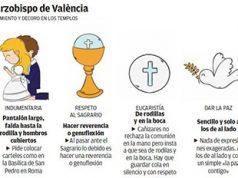 Las indicaciones del Cardenal Cañizares para celebrar dignamente la misa