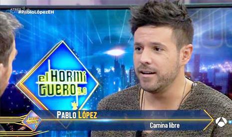 Pablo López en El Hormiguero