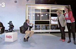 Pilar Rahola intenta agredir a un diputado del PP en directo en TV3