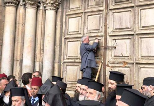 El Santo Sepulcro cierra sus puertas por el ataque de los judíos en Jerusalén