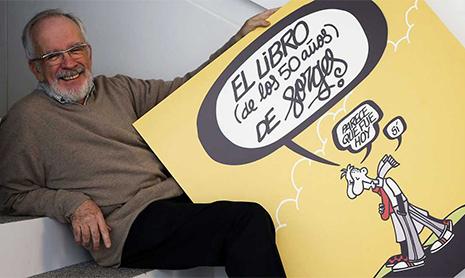 Fallece el humorista Forges a los 76 años de edad. Forges fue uno de los mejores dibujantes