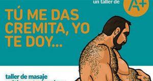 Talleres de masturbación para hombres organizado por la Junta de Andalucía