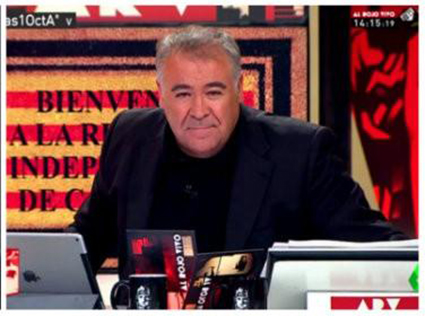 Antonio Garcia Ferreras en La Sexta