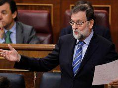Mariano Rajoy hablando en el Congreso de los Diputados habla sobre las pensiones
