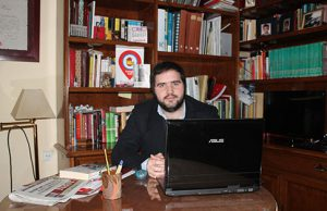 Mario Martos de Iberia Cruor y miembro de la Federación Respeto