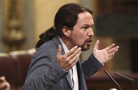 Pablo Iglesias y Podemos quieren que los okupas tengan casa y vivienda gratis. Pablo Iglesias en el Congreso sobre los okupas pidiendo vivienda gratis para los okupas