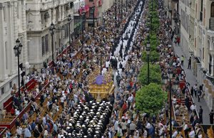 procesiones de Semana Santa de Sevilla