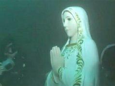 Imagen de la Virgen María encontrada en el Océano Indico