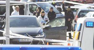 Asesinato de un ex miembro de los Miami en Madrid (Pozuelo)