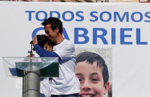 Encuentran el cadáver de Gabriel Cruz en el maletero del coche de la pareja del padre ya muerto
