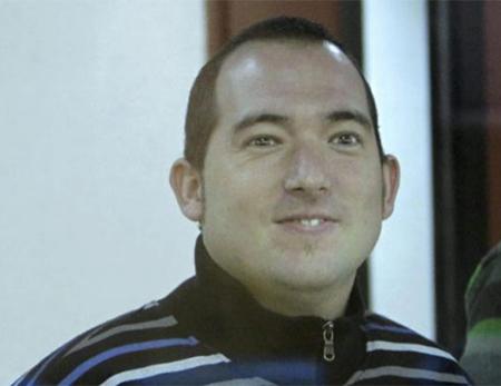 El etarra Xabier Rey en su juicio cuando fue condenado por pertenencia a banda armada. Xabier Rey se suicida en prisión en Cádiz
