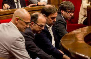 Los golpistas contra la unidad de España del proces son procesados por rebelión por el juez Pablo Llarena. Los golpistas catalanes