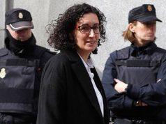 Huida de Marta Rovira. Marta Rovira se fuga de la justicia. Marta Rovira y la Policía