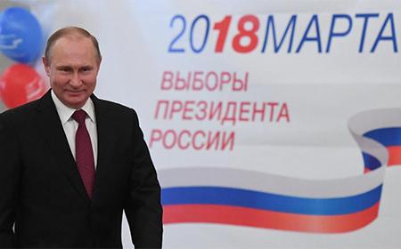 Putin gana las elecciones en Rusia