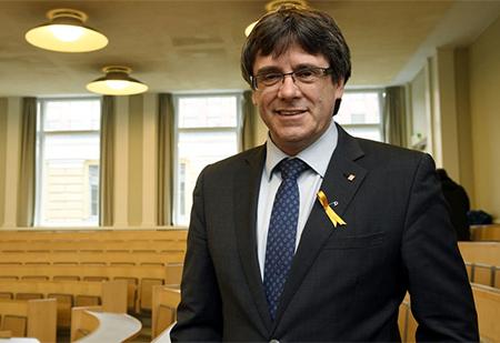 El Golpista contra la Unidad de España, Carles Puigdemont