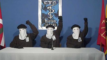 Comunicado de la banda terrorista ETA