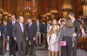 Pelea entre la Reina Sofia y la Reina Letizia