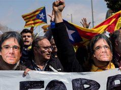 Los CDR separatistas toman las calles de Cataluña