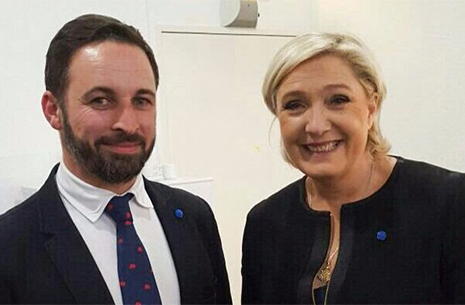 Santiago Abascal y Marine Le Pen