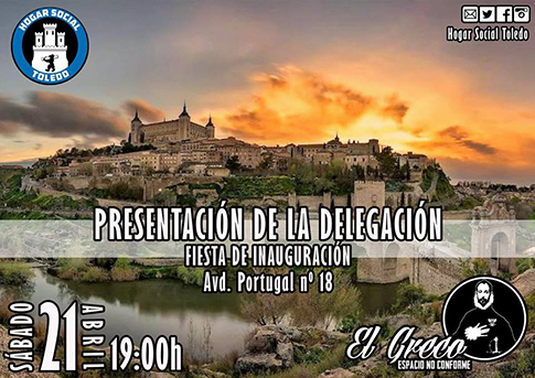 Hogar Social se presenta en Toledo