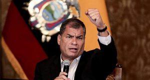 El ex presidente de Ecuador hablando sobre el asesinato del aborto